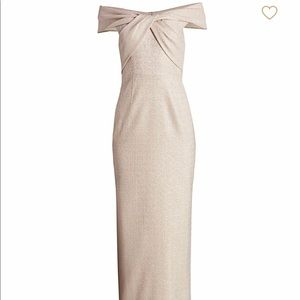 Stunning Terri Jon dress, worn once for wedding!